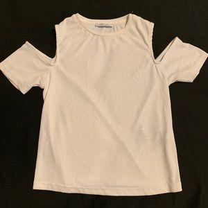 Zara white top size L